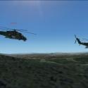 Mi-24 2x letecká strelnica Valaškovce.