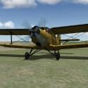 Inšpekcia lietadla, počas poslednej otočky sa zo zeme zdvihlo mračno vtákov, ktoré sa rozhodlo byť usmrtené Ančou
