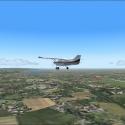 výhlad na lietadlo